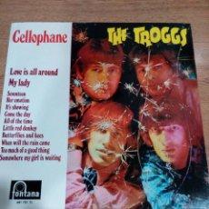 Discos de vinilo: THE TROGGS - LP CELLOPHANE - BUEN ESTADO - VER FOTOS . Lote 194960068