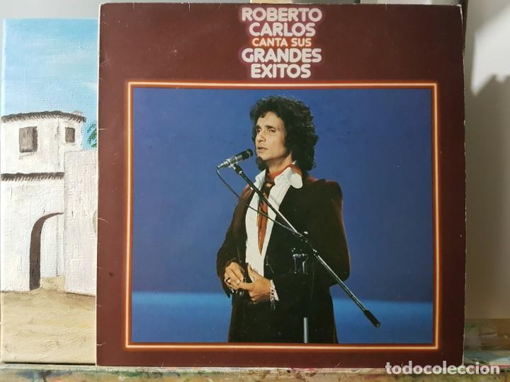 ** ROBERTO CARLOS - CANTA SUS GRANDES ÉXITOS - LP 1978 - LEER DESCRIPCIÓN (Música - Discos - LP Vinilo - Cantautores Extranjeros)