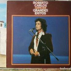 Discos de vinilo: ** ROBERTO CARLOS - CANTA SUS GRANDES ÉXITOS - LP 1978 - LEER DESCRIPCIÓN. Lote 194960285