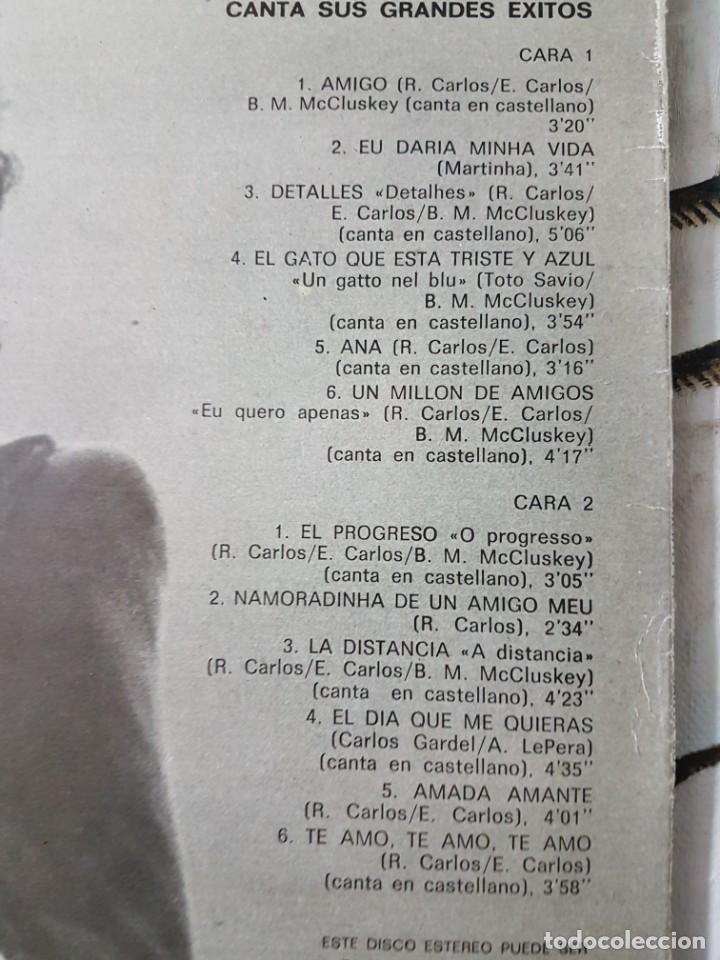 Discos de vinilo: ** ROBERTO CARLOS - CANTA SUS GRANDES ÉXITOS - LP 1978 - LEER DESCRIPCIÓN - Foto 2 - 194960285