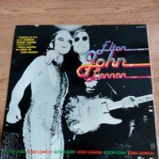 Discos de vinilo: ELTON JOHN - JOHN LENNON - VIVO MADISON SQUARE GARDEN - BUEN ESTADO - VER FOTOS . Lote 194960745