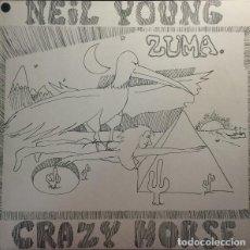 Discos de vinilo: NEIL YOUNG WITH CRAZY HORSE – ZUMA - LP -. Lote 194960853