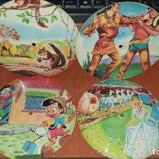 Discos de vinilo: DISCOS INFANTILES DE CARTON, RAROS!. Lote 194961862