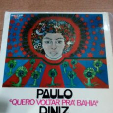 Discos de vinilo: PABLO DINIZ - QUERO VOLTAR PRA BAHIA - BUEN ESTADO - - LEER -VER FOTOS. Lote 194962757