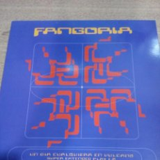 Discos de vinilo: FANGORIA - UN DIA CUALQUIERA EN VULCANO - INCLUYE ENCARTES - BUEN ESTADO - LEER - VER FOTOS . Lote 194963400