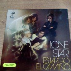 Discos de vinilo: LONE STAR - LP ES LARGO EL CAMINO - PORTADA ABIERTA - PROMOCIONAL - BUEN ESTADO - VER FOTOS. Lote 194963948