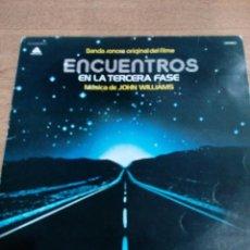 Discos de vinilo: ENCUENTROS EN LA TERCERA FASE - PROMOCIONAL - CARPETA ABIERTA - BUEN ESTADO - VER FOTOS - LEER . Lote 194964287