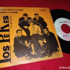 Discos de vinilo: LOS PEKES ¿QUIERES BAILAR LA BOSTELLA?/BAILEMOS LA BOSTELLA 7'' SINGLE 1965 NOVOLA. Lote 194965257