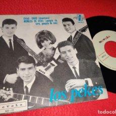 Discos de vinilo: LOS PEKES CHAO CHAO/MUÑECA DE CERA 7'' SINGLE 1965 NOVOLA. Lote 194965506