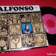 Discos de vinilo: ALFONSO EN CASA DE IRENE/EL SILENCIO/LA ULTIMA LLAMADA/ENTRE LAS DOS EP 1966 ZAFIRO. Lote 194966385