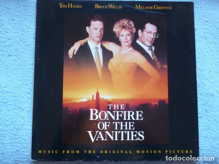 THE BONFIRE OF THE VANITIES,B.S.O EDICION ALEMANA DEL 91 (Música - Discos - LP Vinilo - Bandas Sonoras y Música de Actores )