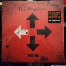 Discos de vinilo: DISCO VINILO THREE DAYS GRACE-OUTSIDER.. Lote 194967996