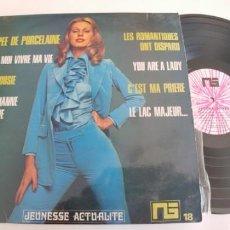Discos de vinilo: JEREMY JONES-LP C'EST MA PRIERE. Lote 194968182