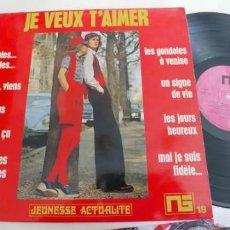 Discos de vinilo: JEREMY JONES-LP PAROLES PAROLES. Lote 194968250