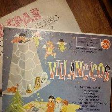 Discos de vinilo: VILLANCICOS PASTORES VENID, FUN FUN FUN, DIN DON, LAS CAMPANAS...RCA 1959. Lote 194970400