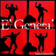 Discos de vinilo: EL GENERAL– LAS CHICAS - MAXI-SINGLE SPAIN 1994. Lote 194970495