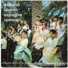 Discos de vinilo: DIRECCIÓN GENERAL DE PROMOCION DEL TURISMO - ESPAÑA - EP PROMO SPAIN 1969. Lote 194970703