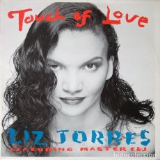 Discos de vinilo: LIZ TORRES – TOUCH OF LOVE - MAXI-SINGLE NETHERLANDS 1989. Lote 194970996