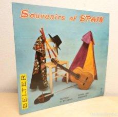 Discos de vinilo: SOUVENIRS OF SPAIN *** ESPAÑA CAÑI ** EL RELICARIO ** VALENCIA ** ANDALUCIA. Lote 194971710