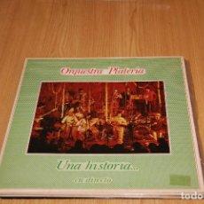 Discos de vinilo: ORQUESTRA PLATERIA - UNA HISTORIA... (EN DIRECTO) - ARIOLA I-203.613 - 1981. Lote 194976273