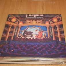 Discos de vinilo: CLAUDE BOLLING - SUITE FOR CHAMBER ORCHESTRA AND JAZZ ORCHESTRA - CBS 73682 - 1983. Lote 194976831