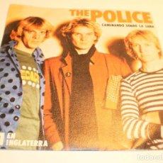 Discos de vinilo: SINGLE POLICE.. CAMINANDO SOBRE LA LUNA.VISIONES NOCTURNAS. A & M 1979 SPAIN (PROBADO Y BIEN). Lote 194976973