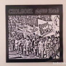 Discos de vinilo: CZOLGOSZ / OPUS DEAD SPLIT EP (VINILO 7´EP). Lote 194977007