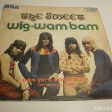 Discos de vinilo: SINGLE SWET. WIG-WAN BAN. NEW YORK CONNECTION. RCA 1972 SPAIN (PROBADO, BIEN). Lote 194977315