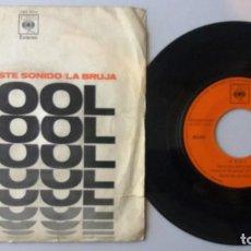 Discos de vinilo: WOOL / ESCUCHA ESTE SONIDO - LA BRUJA / SINGLE 7 INCH. Lote 194981273