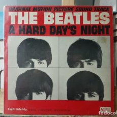 Discos de vinilo: ** THE BEATLES - A HARD DAY'S NIGHT (EDICIÓN EN MONO) - LP 1964 (MADE IN U.S.A.) - LEER DESCRIPCIÓN. Lote 194983082