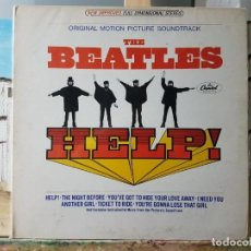Discos de vinilo: ** THE BEATLES - HELP! - LP 1965 (MADE IN U.S.A.) - DOBLE PORTADA - LEER DESCRIPCIÓN. Lote 194983512