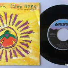 Discos de vinilo: MIDGE URE / I SEE HOPE IN THE MORNING LIGHT / SINGLE 7 INCH. Lote 194984083