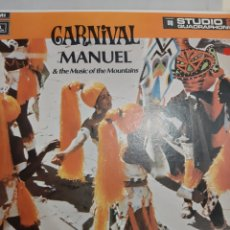 Discos de vinilo: CARNIVAL MANUEL AND THE MUSIC IF THE MOUNTAINS. Lote 194988997