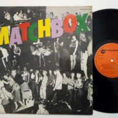 Discos de vinilo: LP: MATCHBOX - S/T (MAGNET RECORDS, 1980) - ROCKABILLY REBEL, BUZZ BUZZ A DIDDLE IT - R&R REVIVAL. Lote 194986227