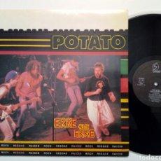 Discos de vinilo: LP: POTATO - ERRE QUE ERRE (OHIUKA, 1990) - LEER DESCRIPCION - REGGAE, SKA, EUSKADI TROPIKAL -. Lote 194987582