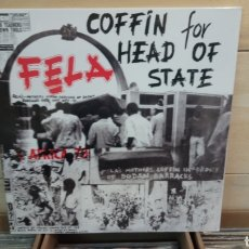 Discos de vinilo: FẸLA KUTI & AFRICA 70 ‎– COFFIN FOR HEAD OF STATE . LP VINILO PRECINTADO. Lote 194991890