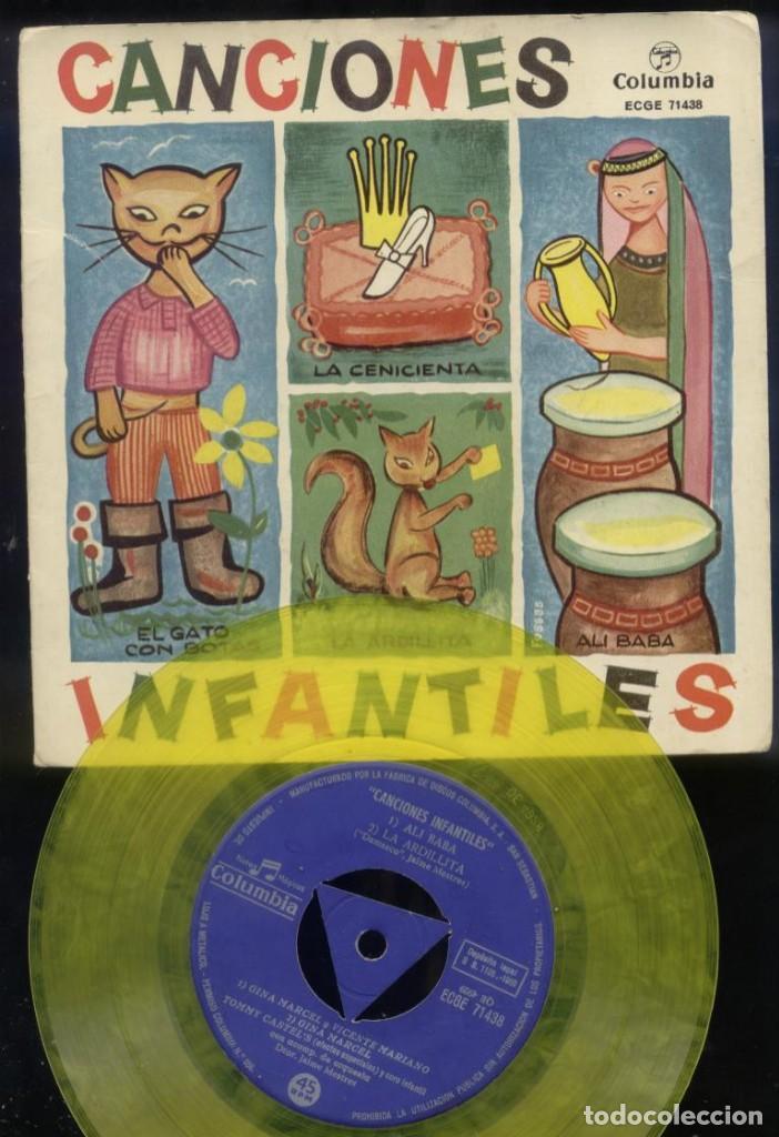 Discos de vinilo: Lote de 13 Eps y Sigles infantiles Ver descripción - Foto 4 - 194992563