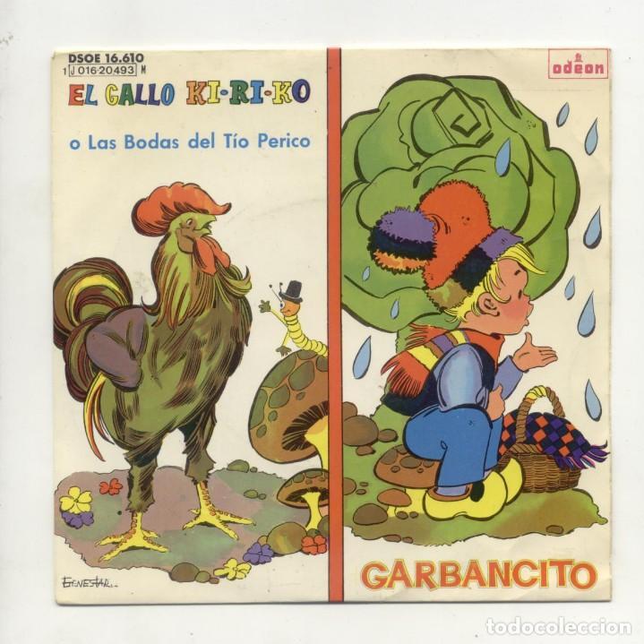 Discos de vinilo: Lote de 13 Eps y Sigles infantiles Ver descripción - Foto 5 - 194992563