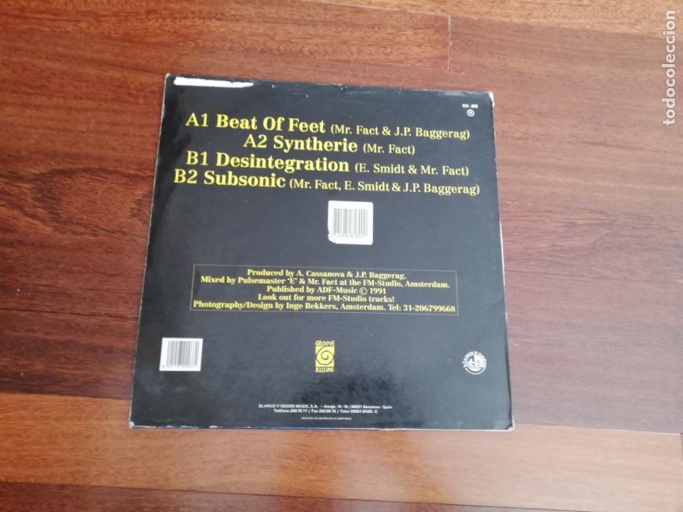 Discos de vinilo: Eq lazer-delirium. maxi españa - Foto 2 - 213324468