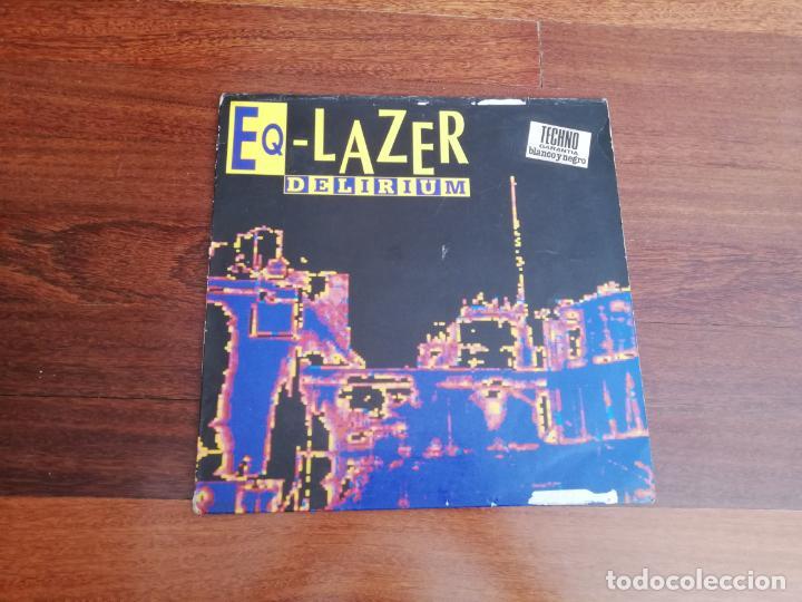 EQ LAZER-DELIRIUM. MAXI ESPAÑA (Música - Discos de Vinilo - Maxi Singles - Techno, Trance y House)