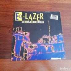 Discos de vinilo: EQ LAZER-DELIRIUM. MAXI ESPAÑA. Lote 213324468