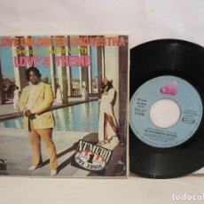 Discos de vinilo: THE LOVE UNLIMITED ORCHESTRA - BARRY WHITE - LOVE'S THEME - SINGLE - 1974- SPAIN - VG/VG. Lote 194993928
