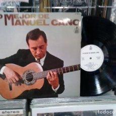 Discos de vinilo: LMV - LO MEJOR DE MANUEL CANO. HISPAVOX 1977, REF. 0-069 S. Lote 194995021