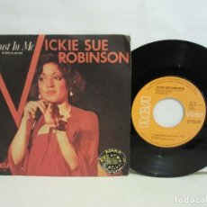 Discos de vinilo: VICKI SUE ROBINSON - TRUST IN ME - SINGLE - 1978 - SPAIN - VG/VG+. Lote 194995040