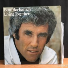 Discos de vinilo: BURT BACHARACH - LIVING TOGETHER (LP, ALBUM) (A&M RECORDS) 87 498 I (D:NM). Lote 194995240
