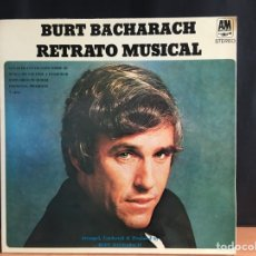 Discos de vinilo: BURT BACHARACH - RETRATO MUSICAL (LP, COMP, GAT) (A&M RECORDS) 85 260 I (D:NM). Lote 194995251
