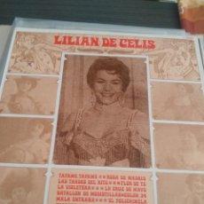 Discos de vinilo: LILIAN DE CELIS. Lote 194995416