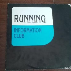 Discos de vinilo: INFORMATION CLUB-RUNNING.MAXI. Lote 194996060