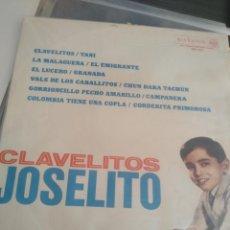 Discos de vinilo: CLAVELITOS JOSELITO. Lote 194996387