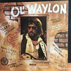 Discos de vinilo: WAYLON JENNINGS - OL' WAYLON (LP, ALBUM) (RCA VICTOR) PL-12317 (D:NM). Lote 194996681